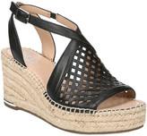 Franco Sarto Celestial Leather Wedge Sandal