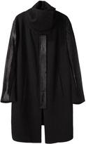 Helmut Lang Willowed Felt Coat