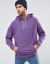 Asos Oversized Hoodie In Purple