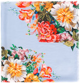Gucci floral print scarf