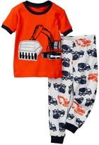 Petit Lem Tractor Pajama - 2-Piece Set (Baby Boys)
