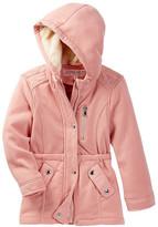 Urban Republic Fleece Anorak Faux Fur Hooded Jacket (Toddler Girls)