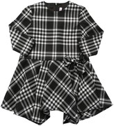 Il Gufo Check Dress W/ Bow Detail