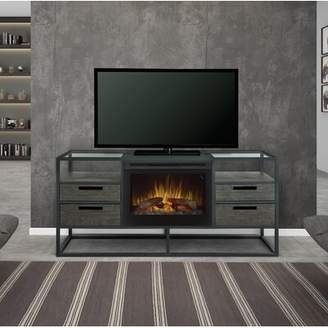 Dimplex Ivan TV Stand for TVs up to 65 inches with Electric Fireplace Included
