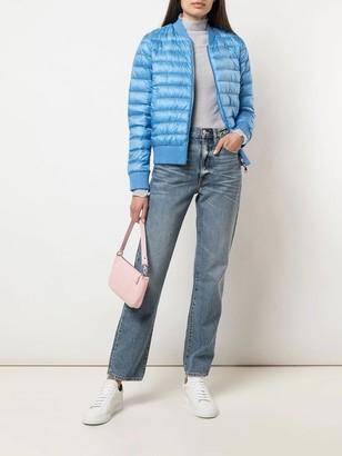 Moncler Blue Padded Abricot Jacket