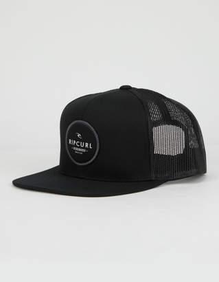 Rip Curl Routine Black & Gray Mens Trucker Hat