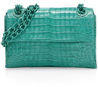 Nancy Gonzalez Mini Madison Crocodile Shoulder Bag