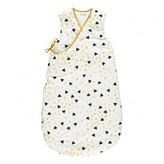 Nobodinoz Yellow and Black Triangle Baby Sleeping Bag