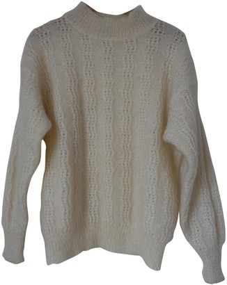 Christian Dior White Wool Knitwear for Women Vintage