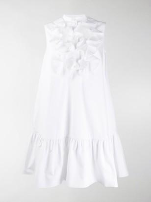 Alexander McQueen Ruffled Yoke Dress