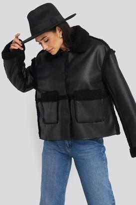 NA-KD Front Pocket Teddy Jacket