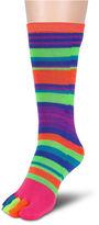 Asstd National Brand 1Pk Rainbow Random Feed Toe Sock