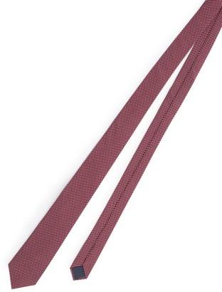 Lanvin Square-Patterned Tie