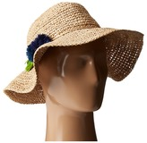 Hat Attack Chunky Crochet Continental w/ Pom Tassel Caps