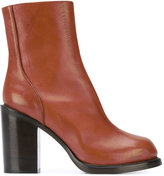 A.F.Vandevorst block heel ankle boots