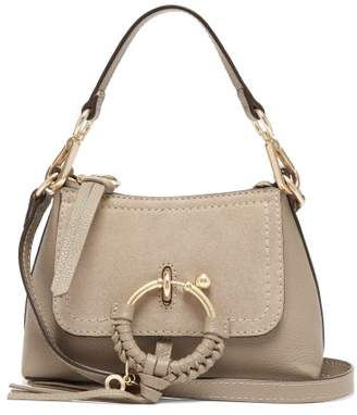 See by Chloe Joan Mini Leather Cross-body Bag - Womens - Grey