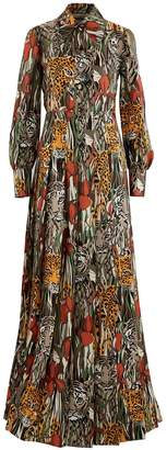 Gucci Long silk dress