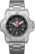Luminox Men's 'SEA' Swiss Quartz Stainless Steel Casual Watch, Color:Silver-Toned (Model: 3252)