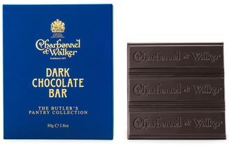 Charbonnel et Walker Dark Chocolate Butler Bar 80g
