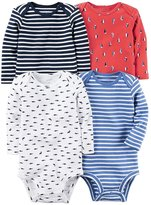 Carter's Baby Boys' 4-Pack Dino Bodysuits