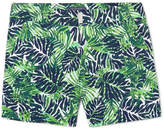 Vilebrequin Merise Mid-length Printed Swim Shorts - Green