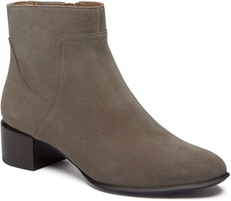 Vionic Leather or Suede Waterproof Ankle Boots - Kamryn