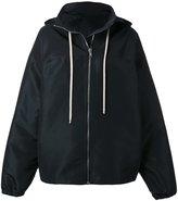 Rick Owens oversized jacket - women - Polyester/Viscose - 40