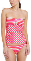 Ella Moss Portofino Coral Stripe Brief
