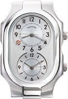 Philip Stein Teslar Large Signature Watch Head, Silver/White