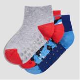 Joe Fresh Toddler Girls' 3 Pack Camo Print Socks