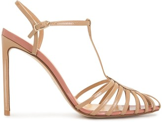 Francesco Russo strappy T-bar sandals