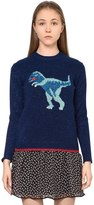 Coach Lurex T-Rex Cashmere Knit Sweater