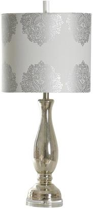 Stylecraft Style Craft 32In Mercury Glass Table Lamp