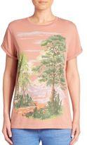 Stella McCartney Landscape Cotton Tee