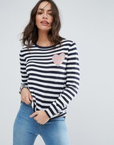 Sugarhill Boutique Stripe Love Sweater