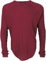 Haider Ackermann round hem sweater