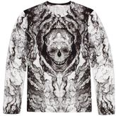 Alexander McQueen Tortoiseshell Print Long Sleeve T-Shirt