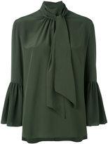 Fendi bell-shaped blouse - women - Silk - 42
