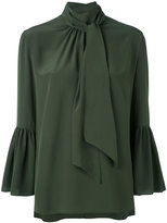Fendi bell-shaped blouse - women - Silk - 44