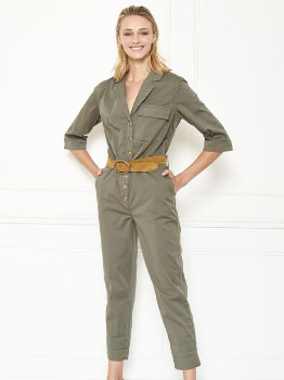MKT Studio MKTSTUDIO - Green Otilin Army Boilersuit - 36