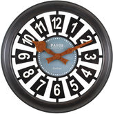 Asstd National Brand FirsTime Parisian Wall Clock
