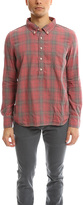 Remi Relief Cotton Plaid Regular Shirt