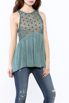 POL Crochet Tank Top