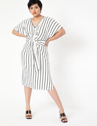 ELOQUII Wrap Around Dress