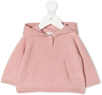 Bonpoint Fitted Cashmere Hoodie