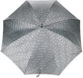 Moschino logo printed umbrella with handle