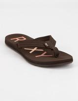 Roxy Vista III Womens Chocolate Sandals