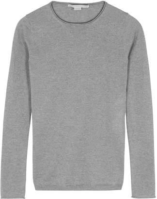 Stella McCartney Grey Melange Wool Jumper