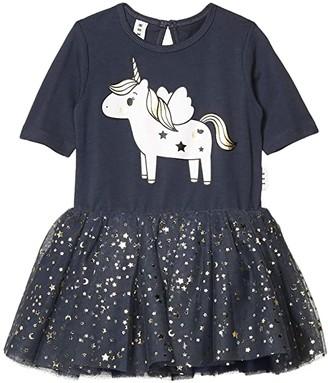 HUXBABY Unicorn Ballet Dress (Toddler) (Ink) Girl's Dress