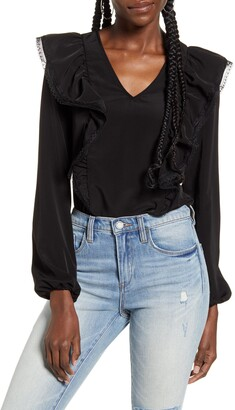 AWARE BY VERO MODA VERO MODA Karma Long Sleeve Blouse